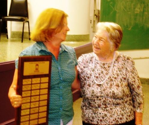 Cindy Zaruba with Martha W. Ransley