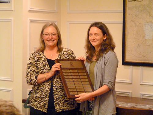 Katherine Nunnally with Susan Hendrickson